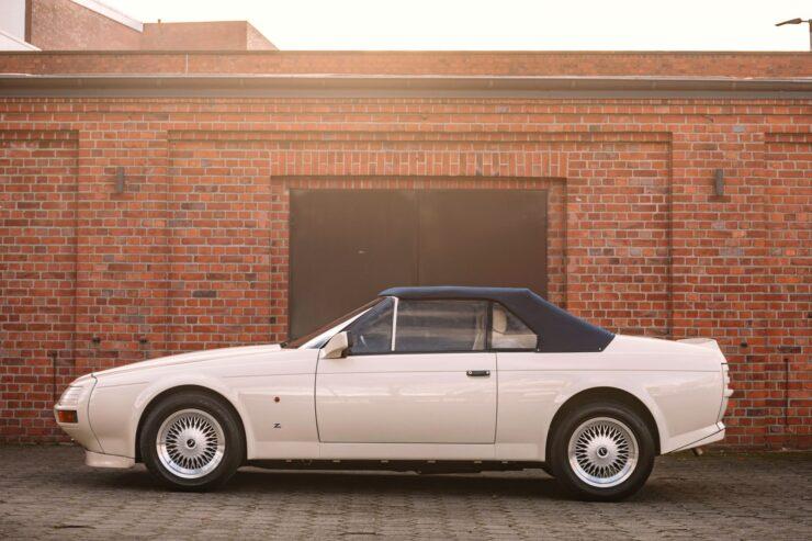 Aston Martin V8 Volante Zagato Side