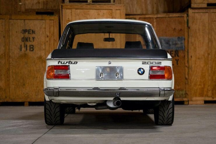 BMW 2002 Turbo Back