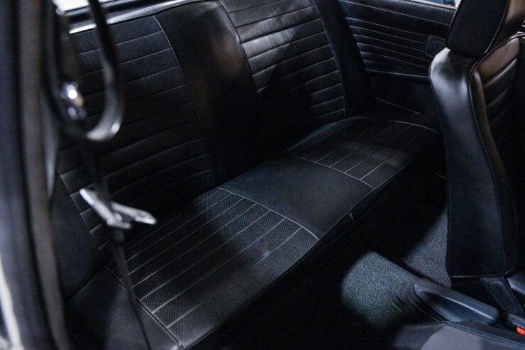 BMW 2002 Turbo Backseat