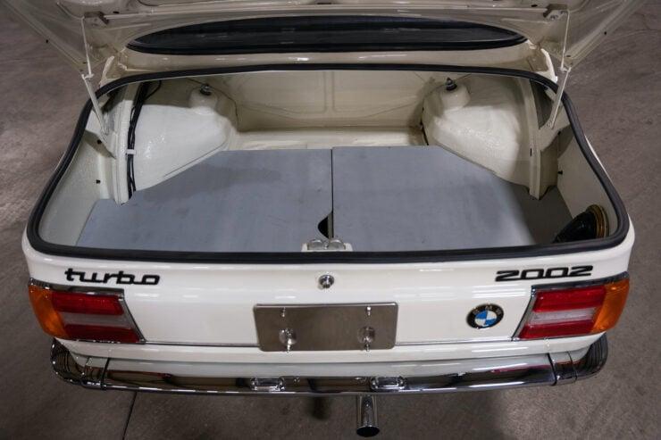 BMW 2002 Turbo Trunk 2