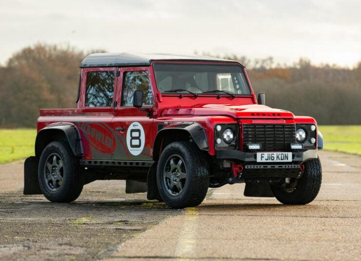 Bowler CSP V8 Land Rover Defender