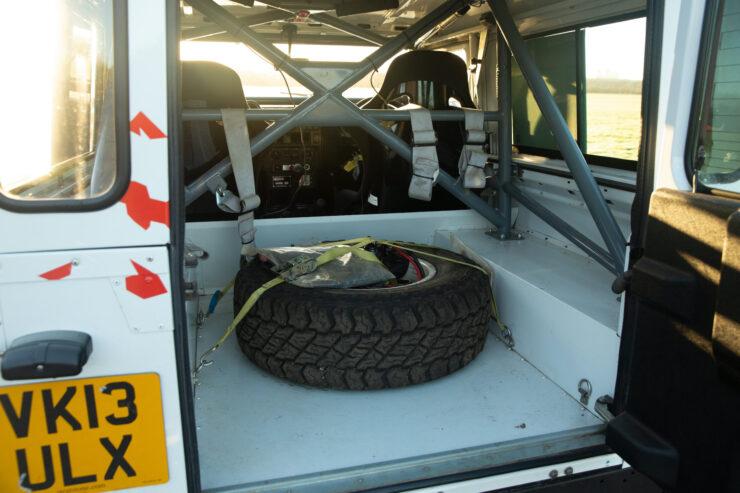 Bowler Land Rover Defender 90 Challenge Back 2
