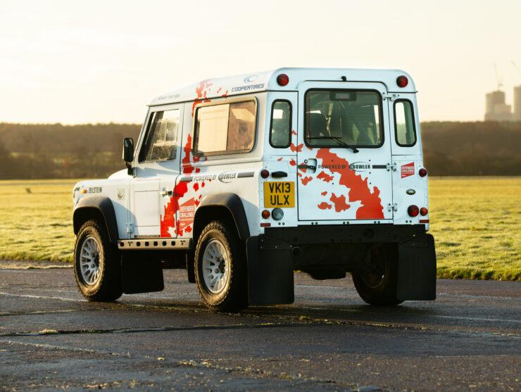 Bowler Land Rover Defender 90 Challenge Back