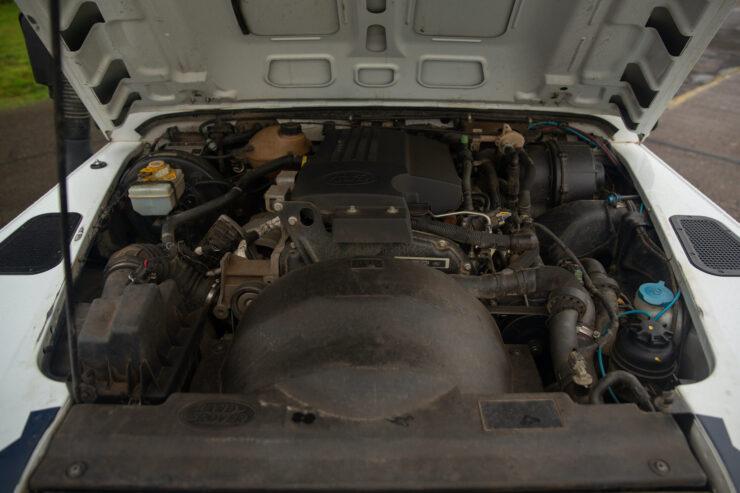 Bowler Land Rover Defender 90 Challenge Engine
