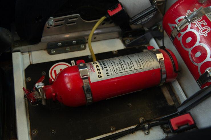 Bowler Land Rover Defender 90 Challenge Fire Suppresion