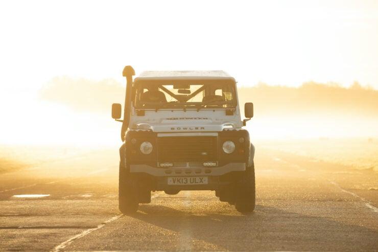 Bowler Land Rover Defender 90 Challenge Front 2