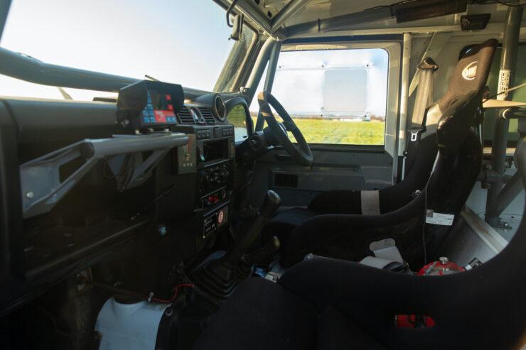 Bowler Land Rover Defender 90 Challenge Interior