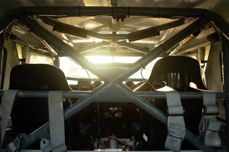 Bowler Land Rover Defender 90 Challenge Roll Cage