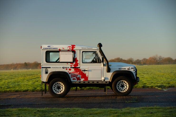 Bowler Land Rover Defender 90 Challenge Side