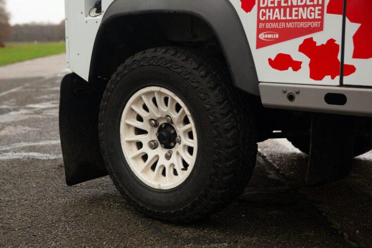 Bowler Land Rover Defender 90 Challenge Wheels