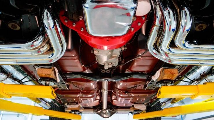 Camaro Under Body