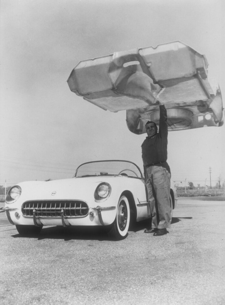Chevrolet Corvette Fibreglass Body