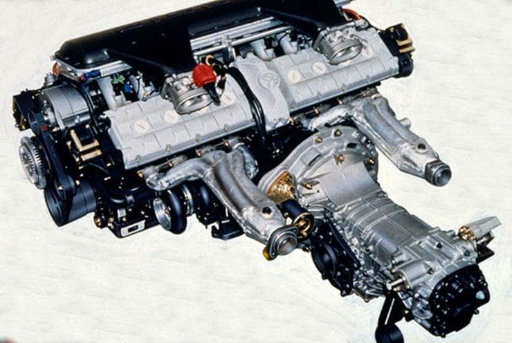 Cizeta V16T Engine And Transmission