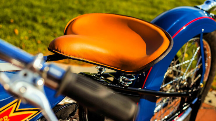 Crocker Motorcycle Saddle