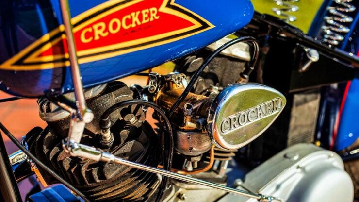 Crocker V-twin Motorcycle Engine 1