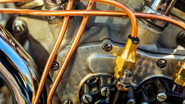 Crocker V-twin Motorcycle Engine 2