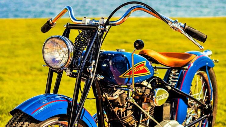 Crocker V-twin Motorcycle Engine 3