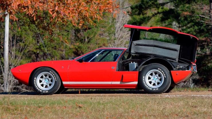 De Tomaso Mangusta Shelby MkV Prototype Side