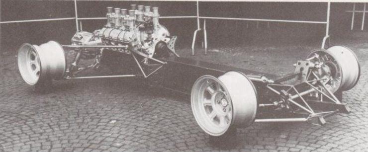 De Tomaso P70 chassis