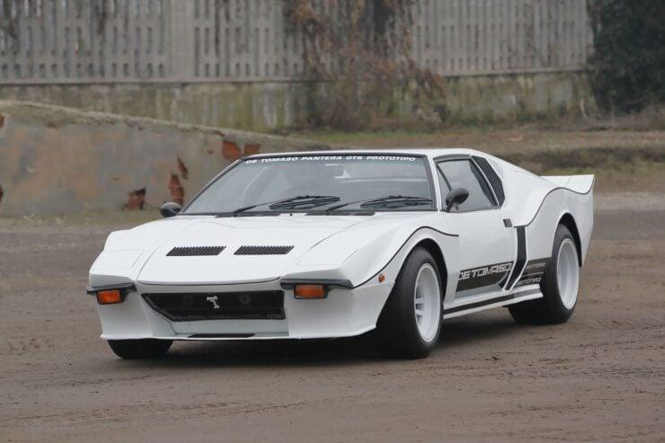 De Tomaso Pantera GTS Front