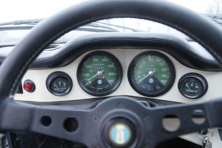 De Tomaso Pantera GTS Gauges