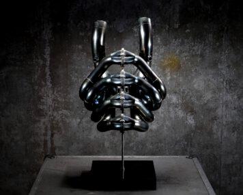 F1 Exhaust Sculpture