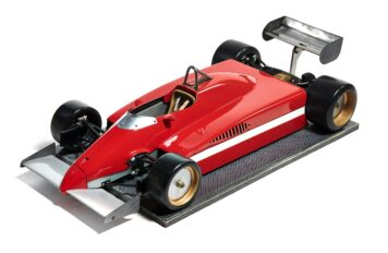 Ferrari 126 CK Formula 1 Wind Tunnel Model