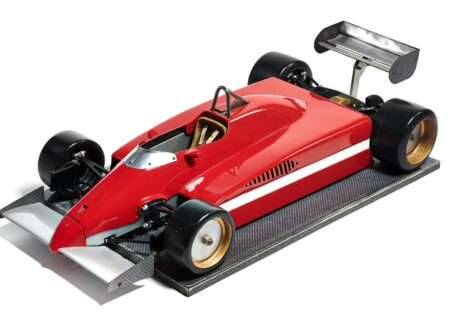 Ferrari 126 CK Formula 1 Wind Tunnel Model