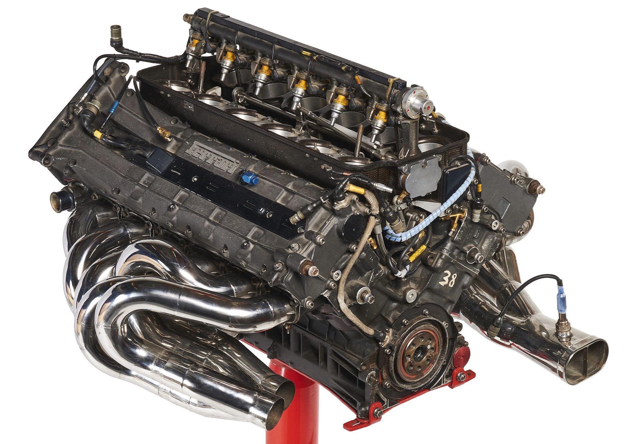 For Sale A Ferrari 3000 044 1 V12 Formula 1 Engine
