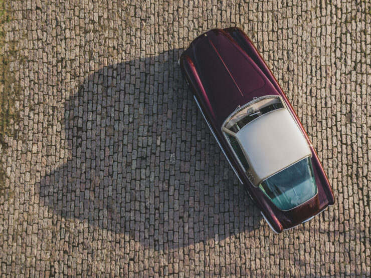 Ferrari 375 America Overhead