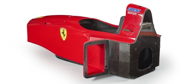 Ferrari F1 412 T2 Monocoque Side