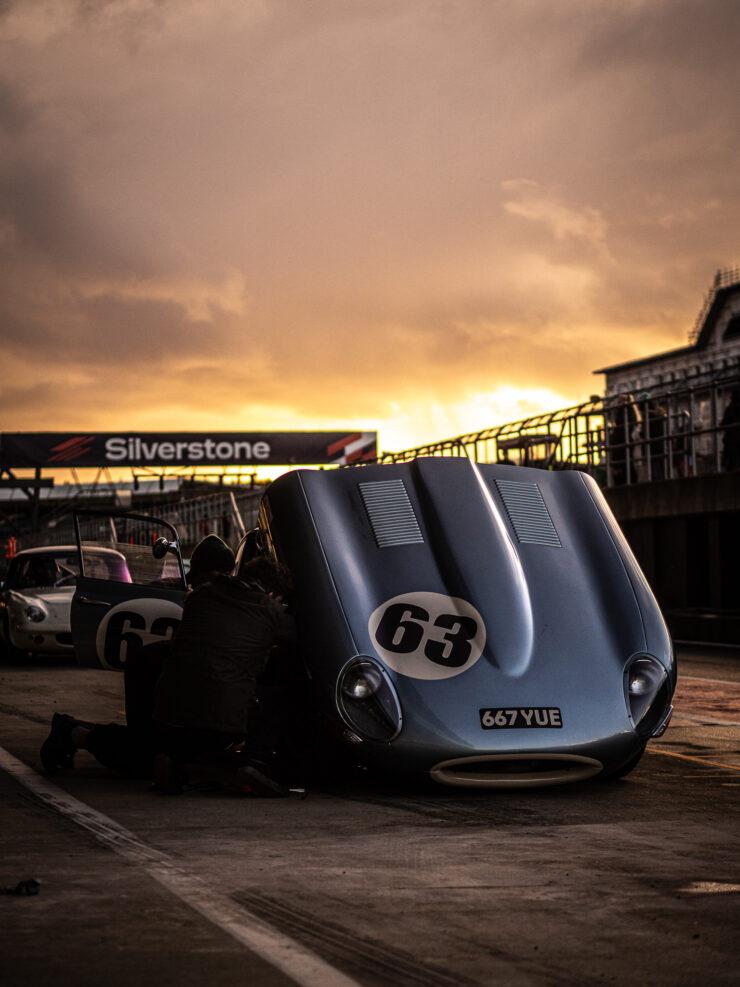 Full Jaguar E-Type