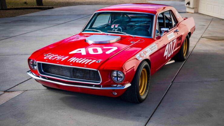 Holman & Moody Ford Mustang 12