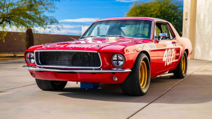 Holman & Moody Ford Mustang