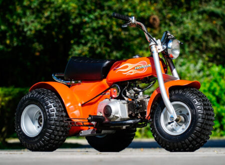Honda ATC70 Three-Wheeler 9