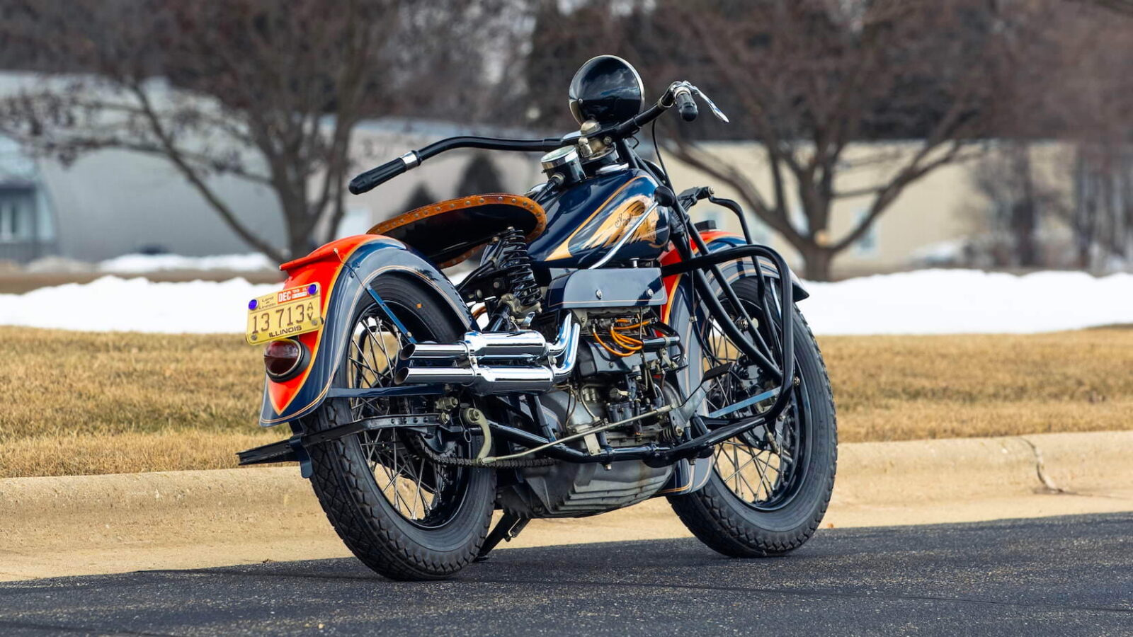 Indian Four Motorcycle 3