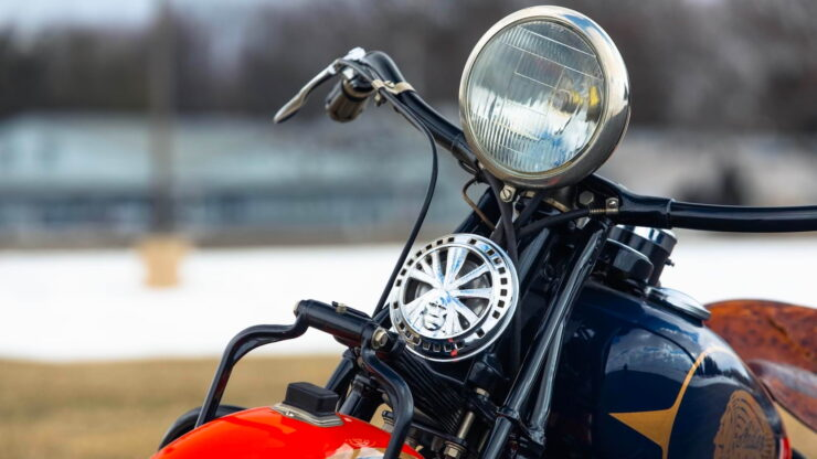 Indian Four Motorcycle 6