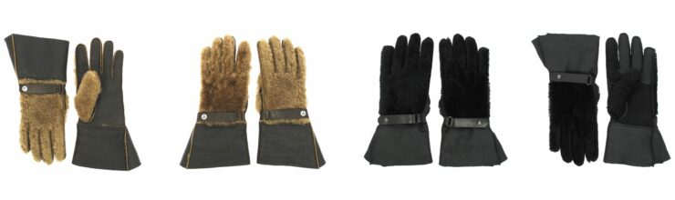 Louis Charles Motorcycle Gloves Collage