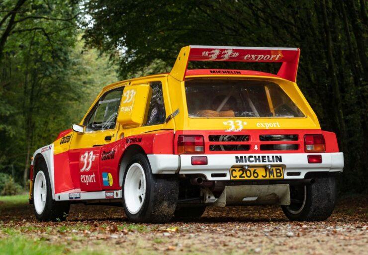 MG Metro 6R4 Back