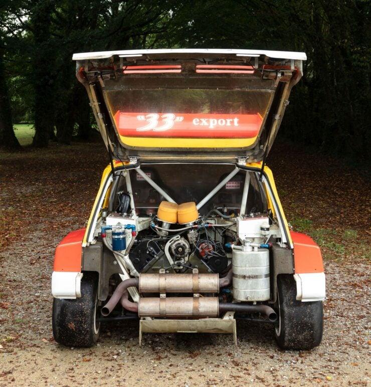 MG Metro 6R4 Engine