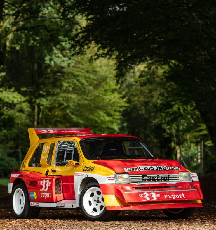 MG Metro 6R4 Front 2
