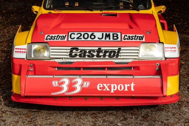 MG Metro 6R4 Front 3