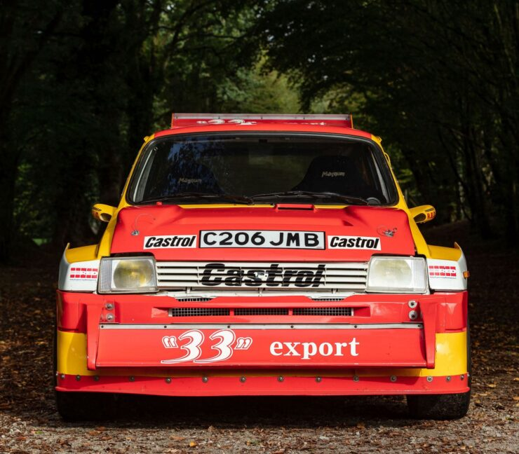 MG Metro 6R4 Front 5