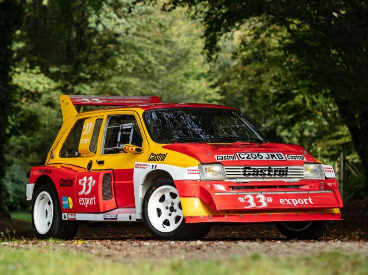 MG Metro 6R4 Front