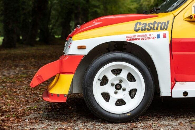 MG Metro 6R4 Wheels