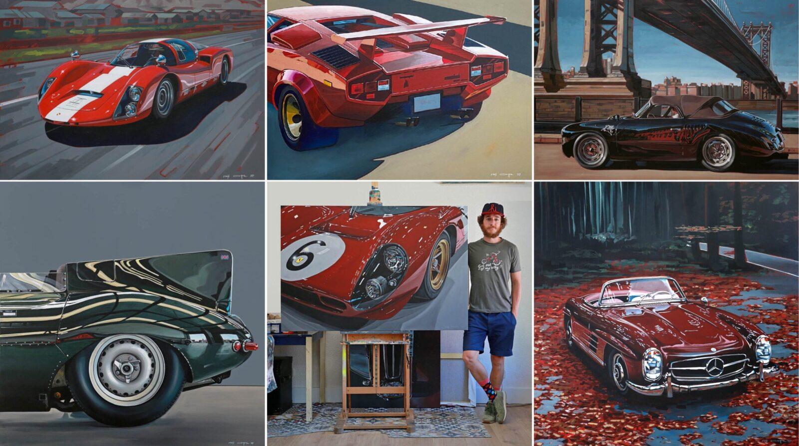 Manu Campa Art Collage