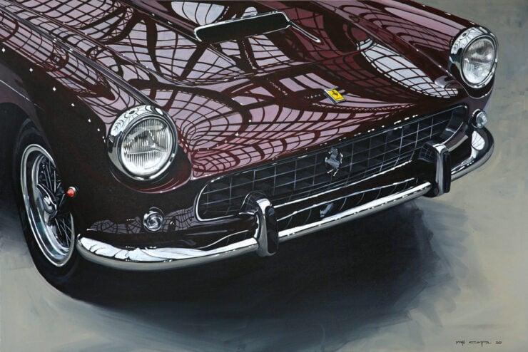 Manu Campa Classic Car Art 0