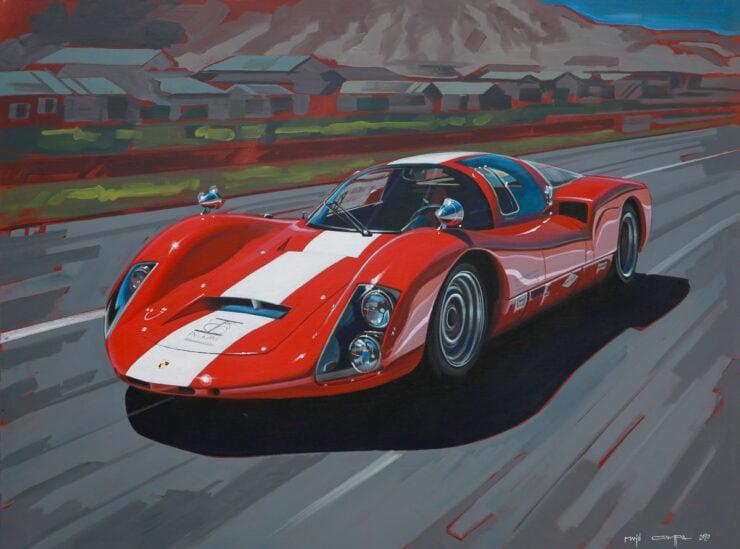 Manu Campa Classic Car Art 10