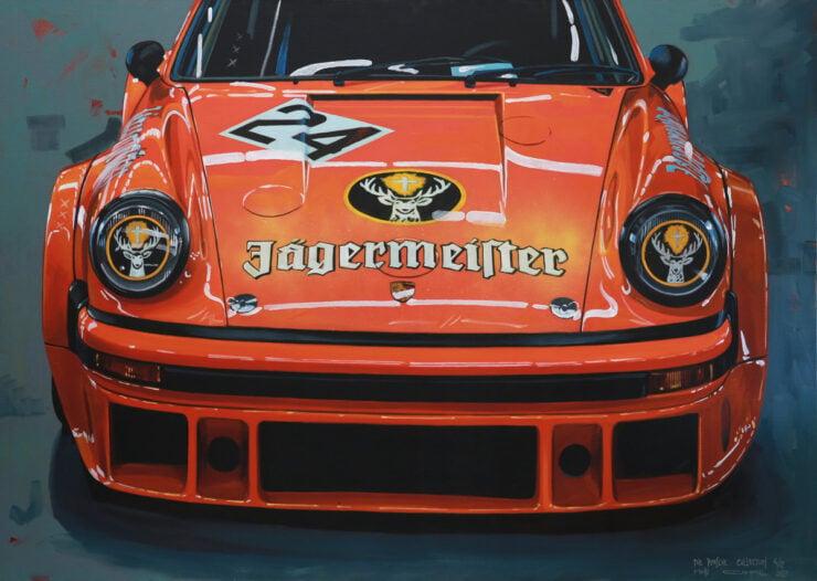 Manu Campa Classic Car Art 11