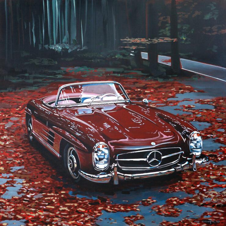 Manu Campa Classic Car Art 12
